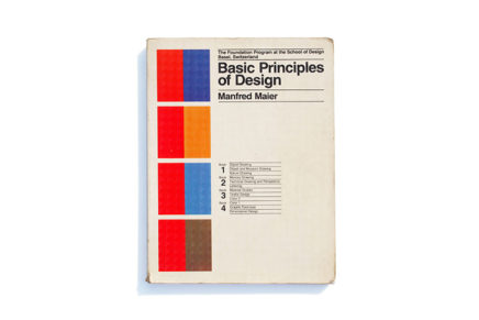 Basic Principles of Design: The Foundation Program at the School of Design Basel, Switzerland