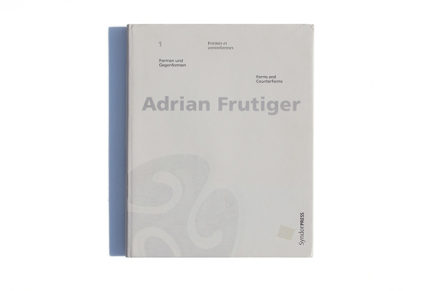 Adrian Frutiger Forms and conterforms