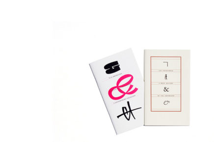 Jan Tschichold: A Brief History Of The Ampersand + Et & Ampersands