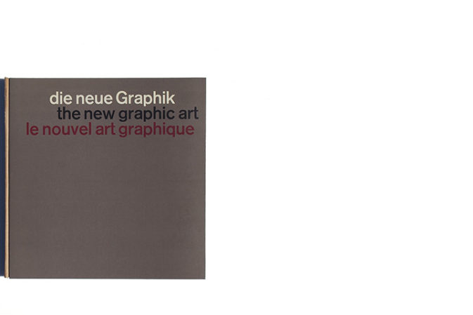 Die Neue Graphik / The New Graphic Art / Le Nouvel Art Graphique