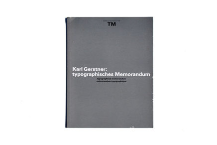TM SGM RSI 02/1972 Karl Gerstner