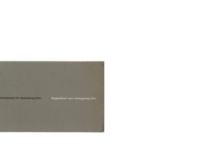 Catalogus Stedelijk Museum 379 Hochschukle fur Gestaltung / Ulm