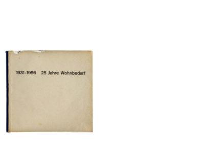 1931-1956 25 Jahre Wohnbedarf