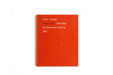Donald Judd: Kunst + Design Preistrager der Stankowski-Stiftung 1993