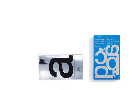 Experimental Jetset : Statement and Counter-Statement + Automatically Arranged Alphabets