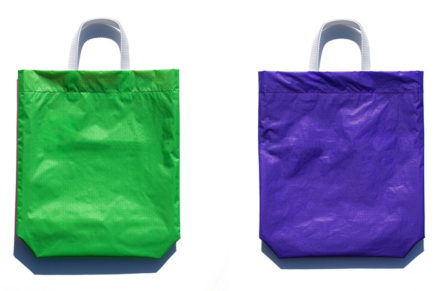 KM bag O/S Fluo Green / Violet