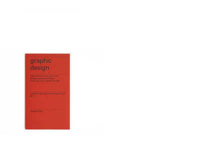 graphic design Basel School of Arts and Crafts Nr.6