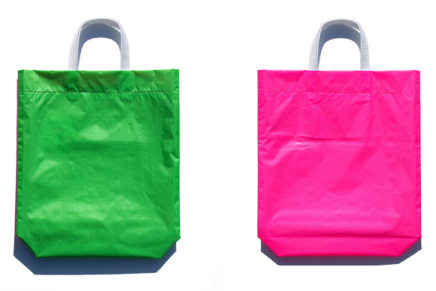KM bag O/S Fluo Green / Fluo Pink