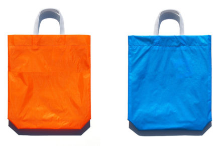 KM bag O/S Fluo Orange / Sky Blue