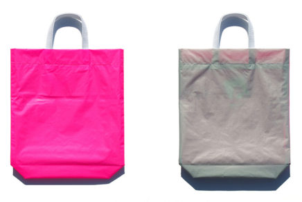 KM bag O/S Fluo Pink / Light Gray