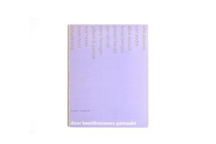 Catalogus Stedelijk Museum 642: Door beeldhouwers gemaakt