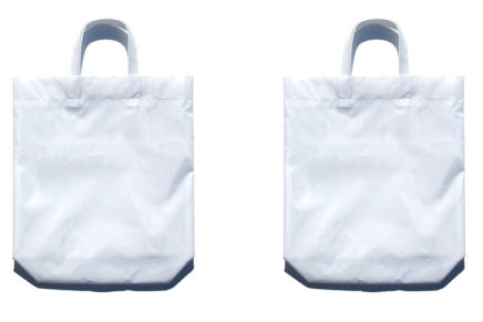 KM bag O/S White / White