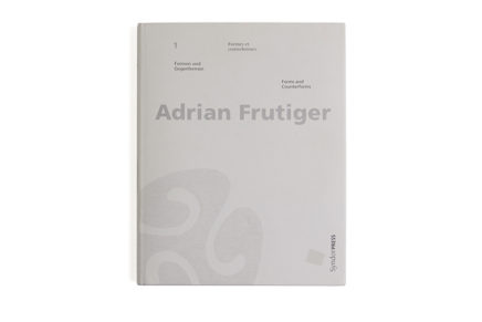 Adrian Frutiger Forms and conterforms hardcover