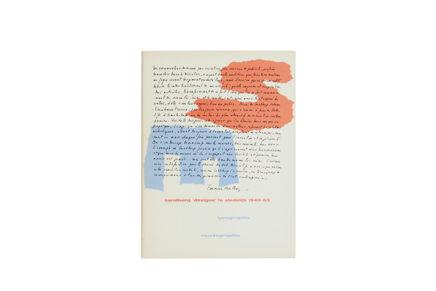 sandberg 'designé' le stedelijk 1945-63 –  typographie muséographie