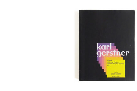 Karl Gerstner: Review of Seven Chapters of Constructive Pictures, Etc