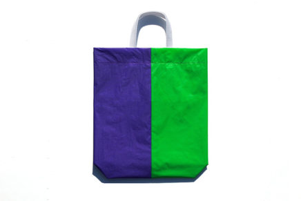 KM bag I/S Fluo Green / Violet