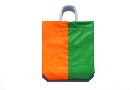 KM bag I/S Fluo Green / Fluo Orange
