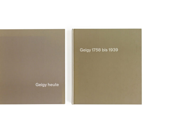 Geity heute  (Geigy Today) 1958 / Geigy 1758 bis 1939