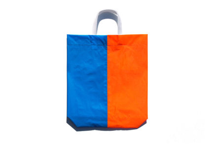 KM bag I/S Sky Blue / Fluo Orange