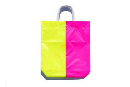 KM bag I/S Fluo Yellow /  Fluo Pink
