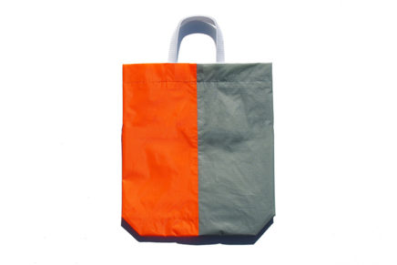 KM bag I/S Light Gray /  Fluo Orange