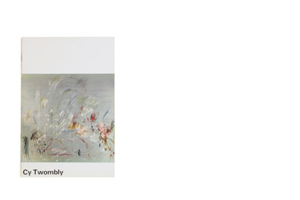 Catalogus Stedelijk Museum 390: Cy Twombly