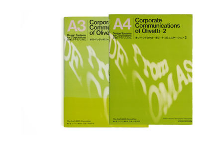 A3 A4 Corporate Communications of Olivetti 1-2