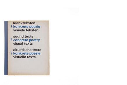 sound texts ? concrete poetry visual text