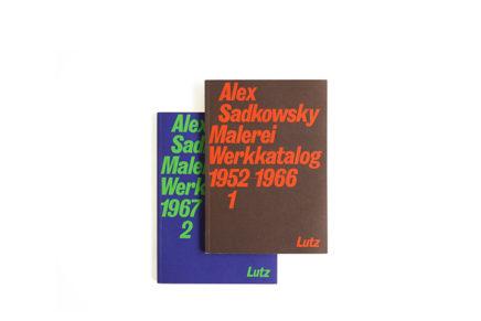 Alex Sadkowsky, Malerei, Werkkatalog 1+2