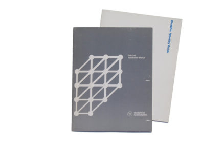 Westinghouse Graphic Identity Guide with Dot/Grid Application Manual