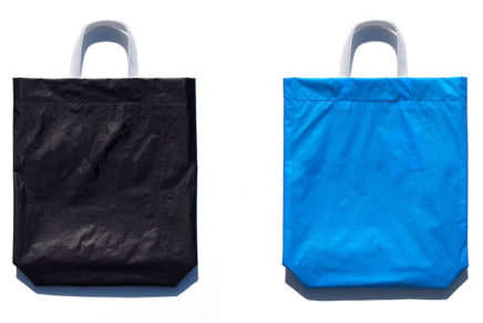 KM bag O/S Black / Sky Blue