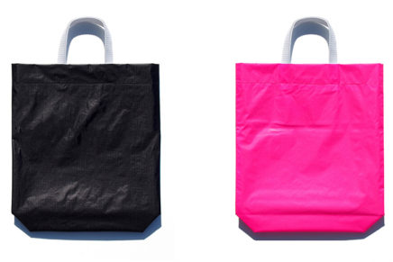 KM bag O/S Black / Fluo Pink