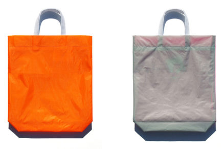 KM bag O/S Fluo Orange / Light Gray
