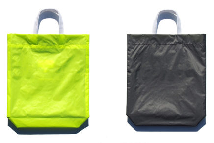 KM bag Fluo Yellow / Dark Gray