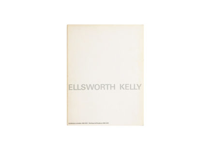 Catalogus Stedelijk Museum 663: Ellsworth Kelly Paintings and Sculptures 1963-1979