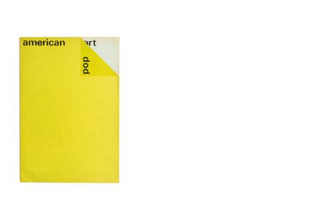Catalogus Stedelijk Museum 364: american pop art