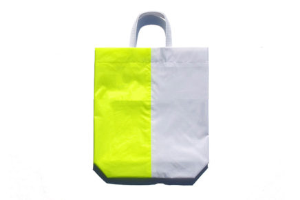KM bag I/S Fluo Yellow / White