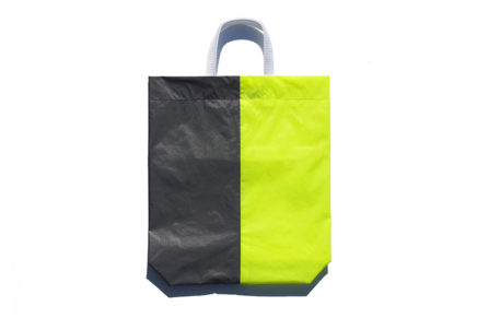 KM bag I/S Fluo Yellow / Dark Gray