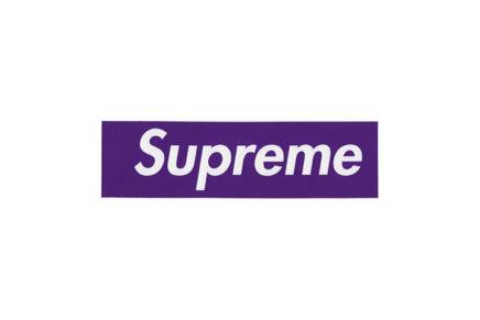 Supreme Purple Box